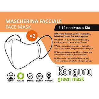 2 Kanguru Kids Cotton Face Masks Age 6-12  alt image 3