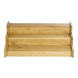Lakeland Bamboo Expandable Shelf Organiser