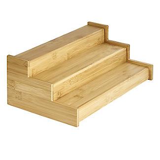 Lakeland Bamboo Expandable Shelf Organiser alt image 4