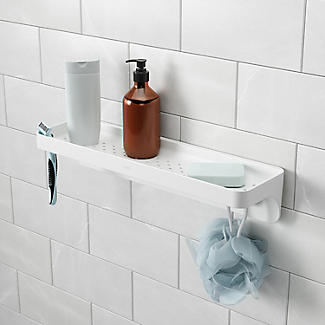Umbra Flex Sure-Lock Suction Bathroom Shelf alt image 2