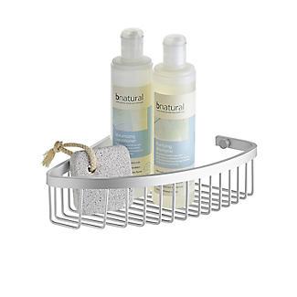 Tatay Ice Collection Aluminium Corner Shower Caddy alt image 2