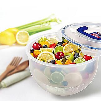 LocknLock Lidded Portable Salad Bowl 4L alt image 2