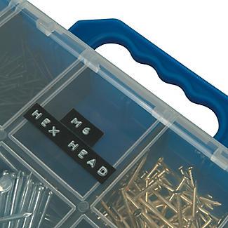 DYMO Embossing Label Maker Tape – Set of 3 Black  alt image 5