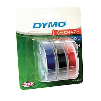 DYMO Embossing Label Maker Tape – Set of 3 Colours