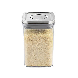 OXO Good Grips Steel Pop Square Food Storage Container 1L