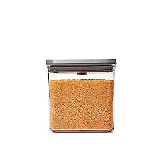 OXO Good Grips Steel Pop Square Food Storage Container 2.6L alt image 3