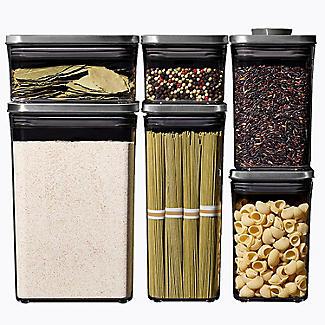 OXO Good Grips Steel Pop Rectangular Food Storage Container 1.6L alt image 6