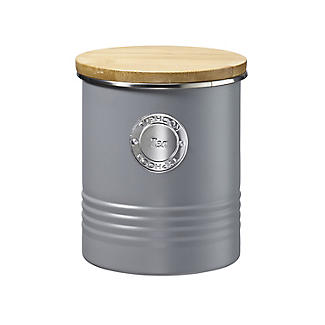Typhoon Living Tea Storage Canister – Putty Grey 1L
