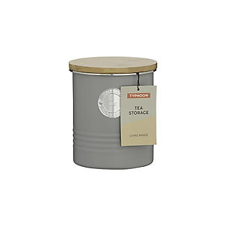 Typhoon Living Tea Storage Canister – Putty Grey 1L alt image 4
