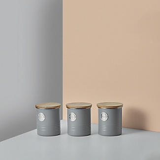 Typhoon Living Sugar Storage Canister – Putty Grey 1L alt image 5