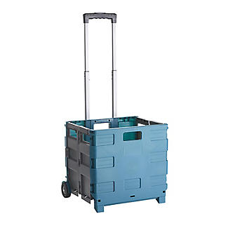 The Funky Trundle Wheeled Trolley with Lid