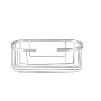 Tatay Ice Collection Aluminium Deep Oval Shower Caddy alt image 2