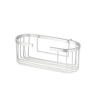 Tatay Ice Collection Aluminium Deep Oval Shower Caddy alt image 4