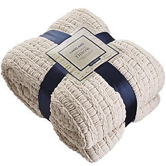 Soft Touch Cosy Throw Cream