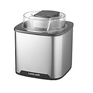 Lakeland Stainless Steel Digital Ice Cream Maker 1.5L alt image 3