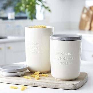 Mason Cash Innovative Kitchen Stoneware Large Storage Jar alt image 2
