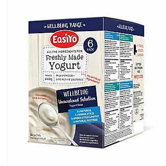 EasiYo Wellbeing Variety Pack Yogurt Mix x 6