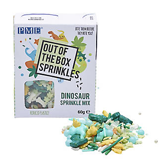 PME Dinosaur Sprinkle Mix 60g