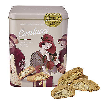 Gadeschi Art Deco Cantucci Italian Biscuits and Tin 500g