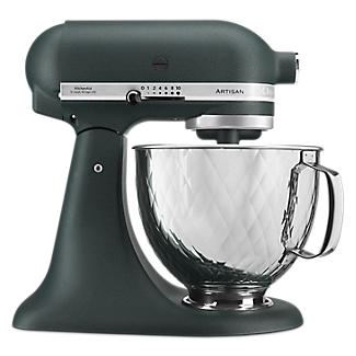 KitchenAid Artisan 4.8 Litre Stand Mixer Pebbled Palm Quilted Bowl – 5KSM156QPBPP
