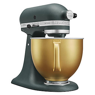 KitchenAid Artisan 4.8 Litre Stand Mixer Pebbled Palm Gold Bowl Limited Edition alt image 3
