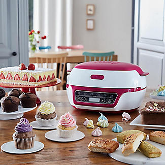 Tefal Cake Factory KD801840 Intelligent Baking Machine with Silicone Baking Moulds alt image 2