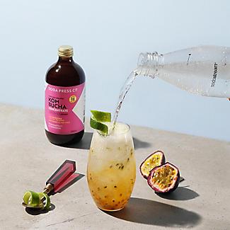 SodaStream Soda Press Co. Organic Passion Fruit and Mandarin Kombucha  alt image 2