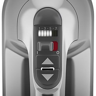 KitchenAid 7-Speed Hand Mixer Contour Silver 5KHM7210BCU alt image 3