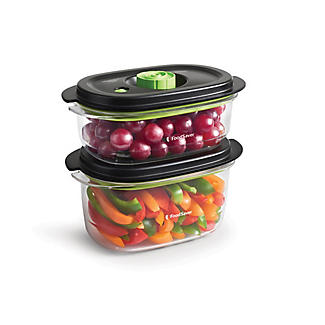 2 FoodSaver Containers 700ml and 1.2 Litre alt image 4