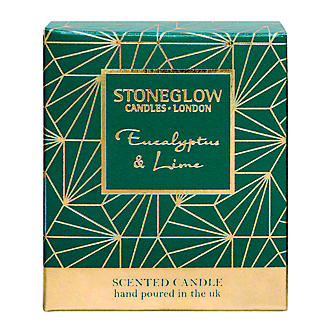 Stoneglow Candles Eucalyptus & Lime Candle Tumbler alt image 2