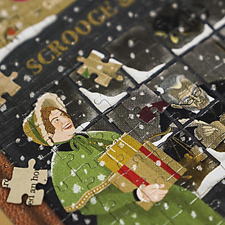 A Christmas Carol Jigsaw Puzzle – Double-Sided 250 Pieces alt image 8