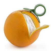 2 Dexam Orange Peelers