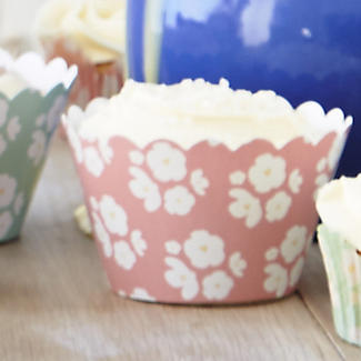 Great British Bake Off 12 Cupcake Wrappers alt image 2