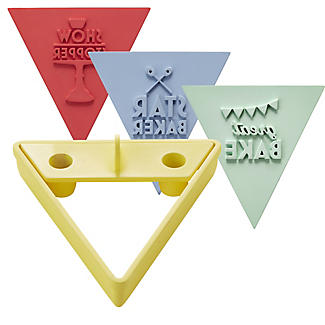 Great British Bake Off Bunting Cookie Cutter Set