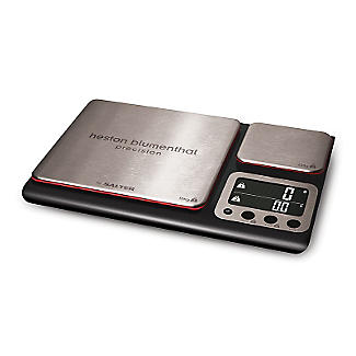Salter® Precision Dual Platform Flat Digital Kitchen Weighing Scale alt image 2