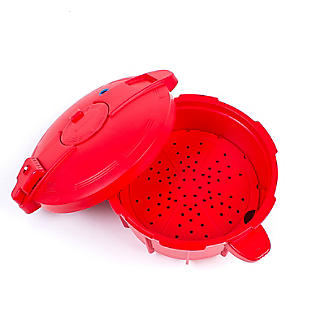 Microwave Cookware - Red Pressure Cooker 2.2L alt image 4