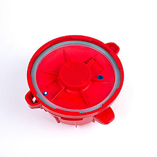 Microwave Cookware - Red Pressure Cooker 2.2L alt image 5