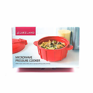 Microwave Cookware - Red Pressure Cooker 2.2L alt image 7
