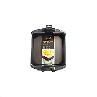 Loose Based Cake Tin - Deep Square 23cm alt image 5