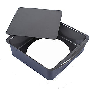 Loose Based Cake Tin - Deep Square 25cm alt image 3