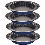 Lakeland Loose Based Mini Flan, Tart & Quiche Tins x 4