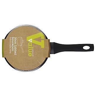 Value Non Stick Induction Cookware - 20cm Saucepan alt image 2