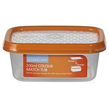 Vorratsbox mit Deckel und Farbsystem, 200 ml