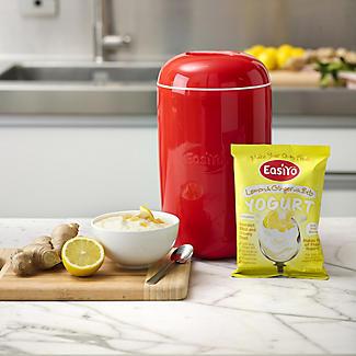 EasiYo Lemon & Ginger With Bits 1kg Yogurt Mix x 4 alt image 3