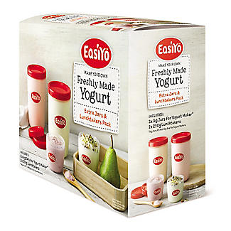 EasiYo Yogurt Maker 2 1kg Jars and 2 Lunch Takers alt image 3