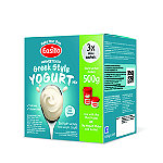 EasiYo Unsweetened Greek Style 500g Yogurt Mix x 3