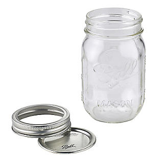 6 Ball Regular Mouth Mason Preserving Jars 490ml alt image 3