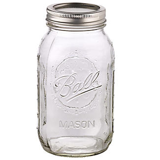 4 Ball Regular Mouth Mason Preserving Jars  945ml alt image 4
