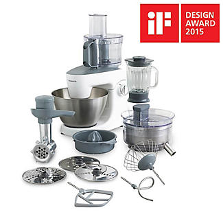 Kenwood Multione Stand Mixer and Food Processor White KHH326WH alt image 6
