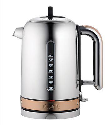 Dualit Classic Copper Kettle 1.7L  Rapid & Whisper Boil 72820